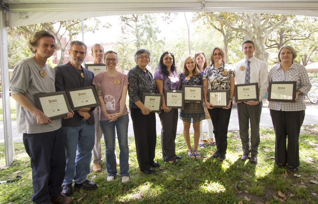 Uf Calendar 2016 2020 Champions for Change Awards » Office of Sustainability