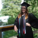 Two summer grads earn recognition in Green Graduation Cord Challenge